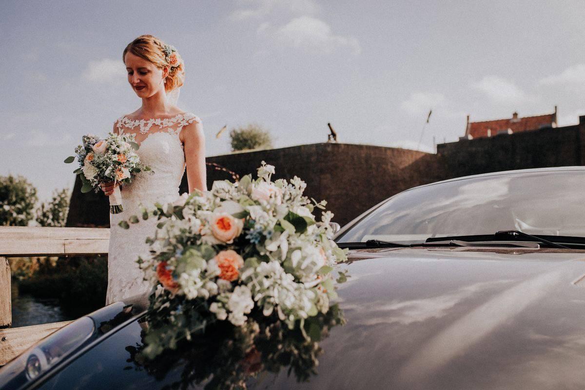 <span>Auto Bloemwerk, Bruidsboeket, Bruidswerk, corsages</span>Bruiloft