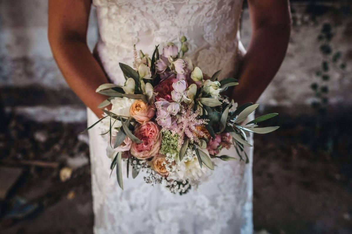 <span>Bruidsboeket, Bruidswerk, Locatie Bloemwerk</span>Bruiloft